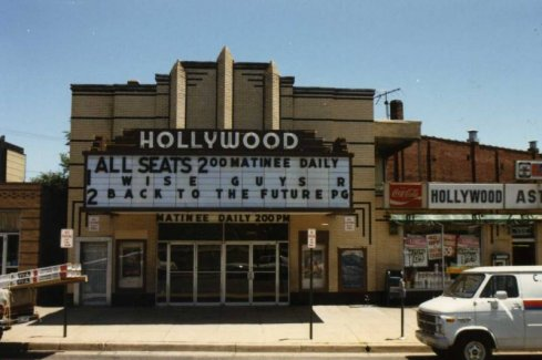 The Hollywood Theatre was