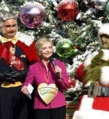 At Grinchmas 2013,  Universal honored Florence Henderson for her work with City of Hope