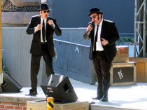 Blues Brothers R&B Revue at Universal Studios. Artistic content is owned by Universal Studios. [Photo Credit: LAtourist.com]