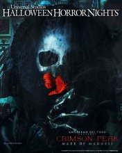 Crimson Peak at HHN 2015-2
