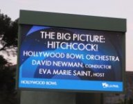 Eva Marie Saint has hosted Hitchcock's movie music concerts at the Hollywood Bowl.