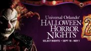 Halloween Horror Nights park hours