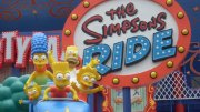 Simpsons Ride Universal Studios Hollywood