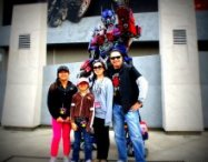 HighTechDad's family & Transformers