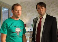House mates: David Mitchell (right) and Robert Webb, stars of Channel 4's Peep Show