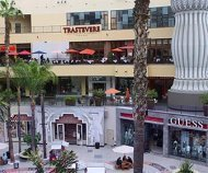 Trastevere, Woodfire BBQ, and stores at Hollywood & Highland Shopping Center. [Photo Credit: LAtourist.com]