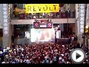 Afrojack at the Hollywood and Highland Center - REVOLT Event.