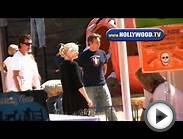 Gwen Stefani and Family at Pumpkin Patch in West Hollywood