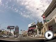 Sunset Blvd. Los Angeles California - GoPro HD Hero2