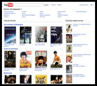 YouTube Full Lenght Movies - © TechNorms