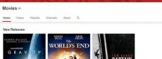 Youtube movies for online movie streaming